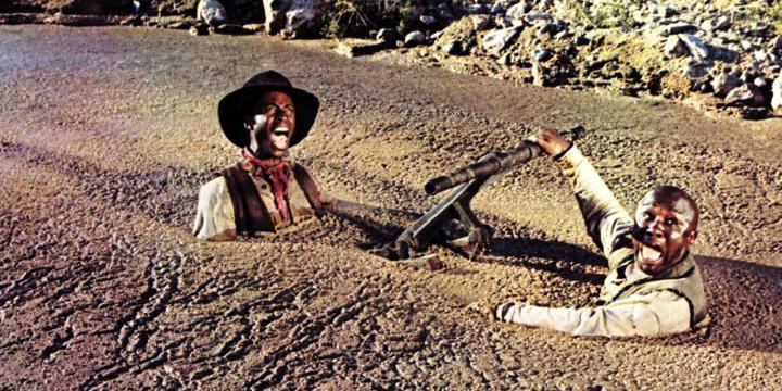 CLEAVON LITTLE & CHARLES MCGREGOR BLAZING SADDLES (1974)